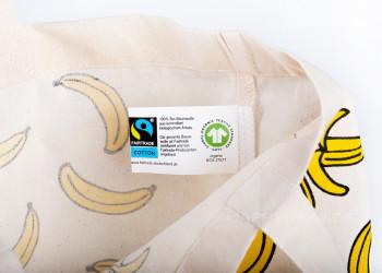 Bio Baumwollbeutel Fairtrade GOTS Label