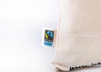 Bio Baumwolltaschen Fairtrade Organic Cotton zertifiziert