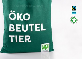 Bio Einkaufstasche mit Logo bedrucken