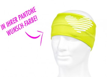 Funktions Stirnband in Wunschfarbe Pantone