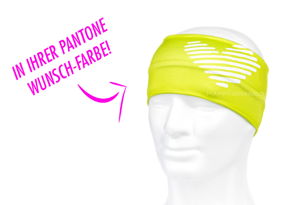 Funktions Stirnband-in-Wunschfarbe-Pantone