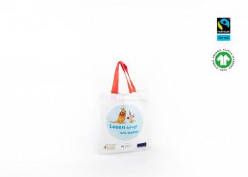 GOTS Apotheker Tasche mit Logo bedrucken lassen