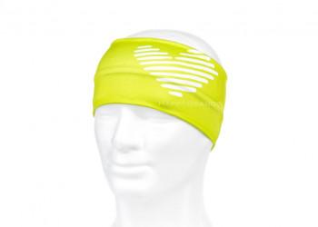 Lycra Stirnband in Wunschfarbe Pantone eingefaerbt