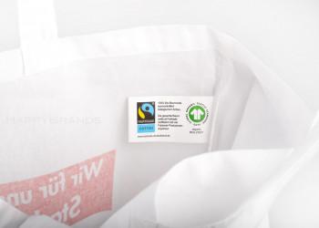 Oekotasche Biobaumwolle Fairtrade GOTS Organic