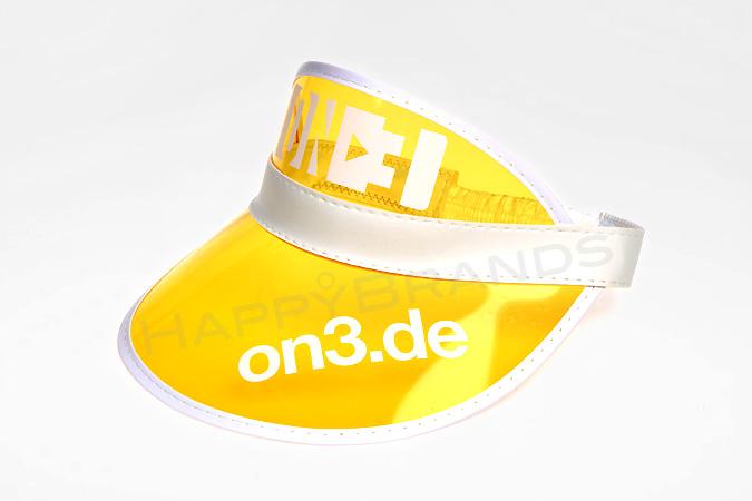 Sonnenvisier-mit-PVC-Stirnschirm-Werbemittel
