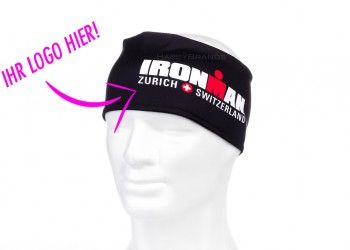 Stirnbaender Funktionsmaterial mit Logo bedrucken