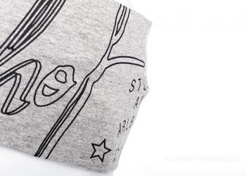 Werbe Langlauf Stirnband Fertigung aus Baumwolle Jersey