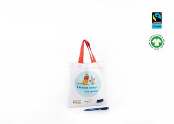 Werbeartikel Fairtrade Apothekertasche Werbegeschenk