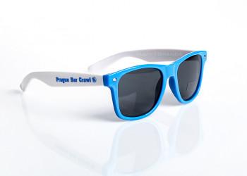 1 Sonnenbrille Werbeanbringung