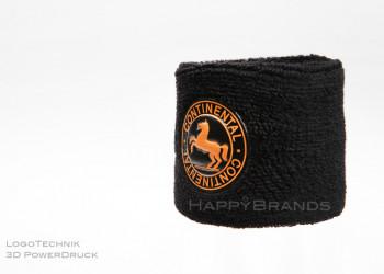 15b Schweissband Logo drucken