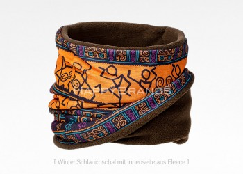 38a Winter Multischal mit Fleece