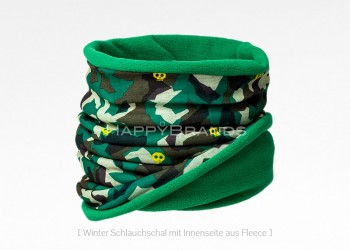 39a Tubeschal mit Fleece