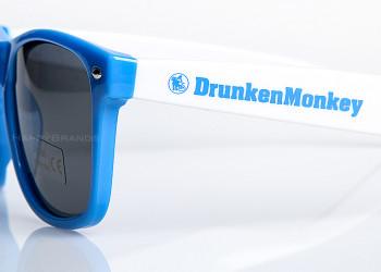 8 Sonnenbrille Firmenlogo Aufdruck
