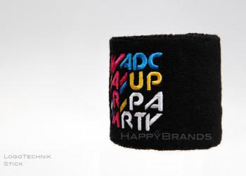 8b Schweissband  Logo sticken