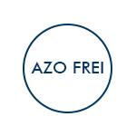 AZO Farbstoffe frei - Logo