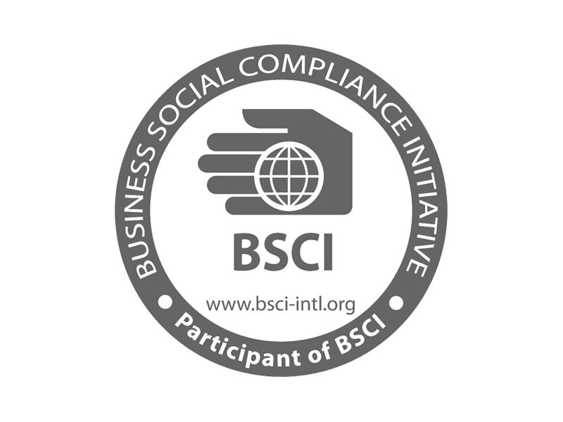 Ethisch Sozial BSCI zertifiziert Logo 800