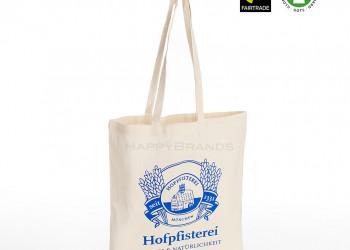 Fairtrade Stofftasche mit Firmenlogo 1024