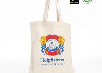 Fairtrade Stofftasche mit Werbeaufdruck 1024
