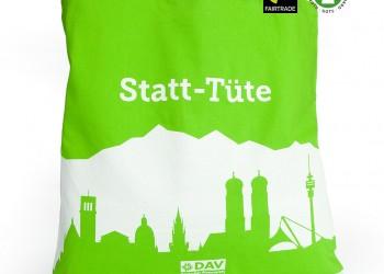 Fairtrade Werbetasche mit randlosem Motiv Druck 1024