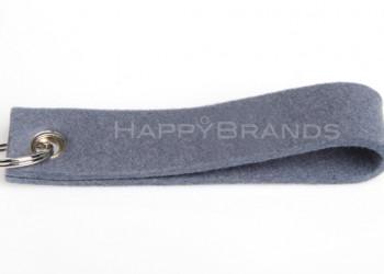 Filzschluesselanhänger Merchandise Grau