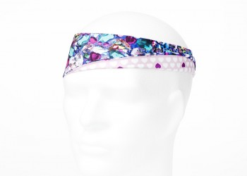 Funktions Stirnband reflektierend Logo