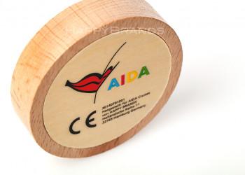 Holz Geduldsspiel Firmenlogo branding