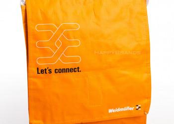 Individuelle PP Woven Einkaufstasche Firmenlogo Wunschmotiv bedrucken Werbeartikel Merchandising 1024