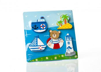 Kinderspielzeug aus Holz Werbegeschenk