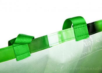 PP Woven Shoppingbag Promotionartikel Sonderausfuehrung Klettverschluss 1024