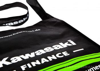 Permanenttasche aus PP Non Woven Material Branding Beschriftung 1024