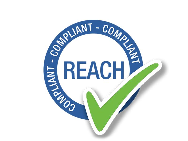 Produktsicherheit REACH zertifiziert Logo 800c