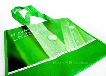 Recycling Einkaufstasche bedrucken Firmenname Werbemotiv 1024