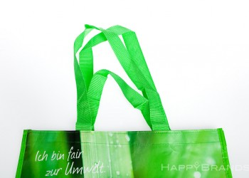 Recyclingtasche Messe Giveaway Nylon Henkel 1024
