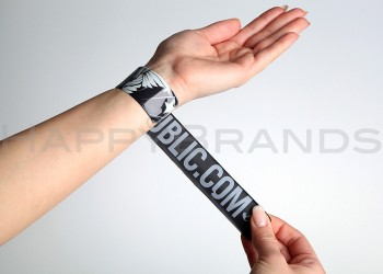 Reflektor Armband beidseitig bedrucken