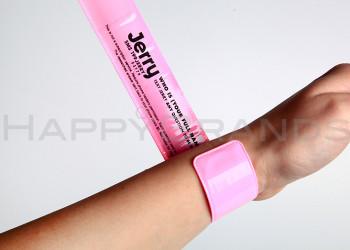 Reflektor Schnapp Armband beidseitig bedrucken