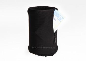 Schweissband mit Zipper Tasche