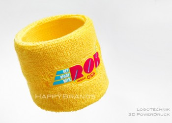 Schweissband mit eigenem Logo