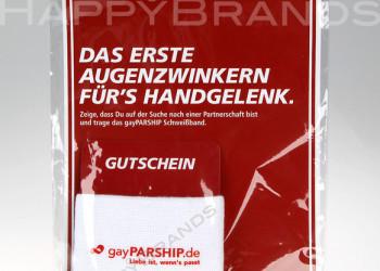 Schweissband Verpackung Set Logo PARSHIP 700h