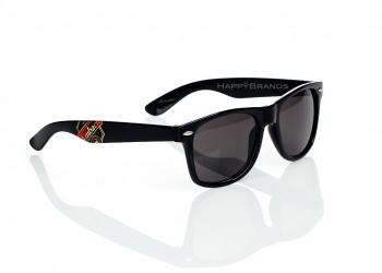 Sonnenbrille Firmennamen bedrucken