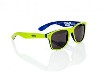 Sonnenbrille beschriften