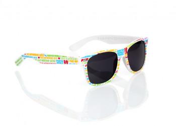 Sonnenbrille individuellem Branding