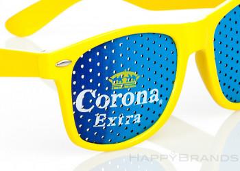 Sonnenbrille mit Logo Aufdruck