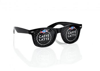 Sonnenbrille mit Wunschmotiv auf Glaesern