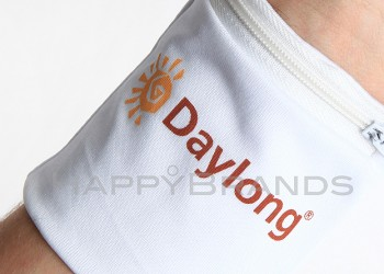Sportarmband Reissverschlusstasche mit Werbung bedrucken