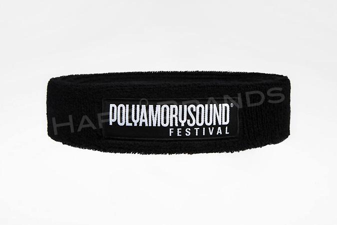 Stirnband_Gewebtes-Label_Logo_01_POLYAMORYSOUND-FESTIVAL_Werbemittel