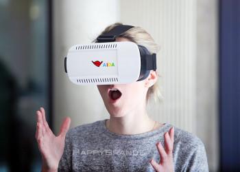 VR Brille Firmengeschenk in Aktion 1024