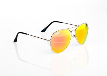 Verspiegelte Werbe Sonnenbrille Metall Piloten Stil mit Branding 1024