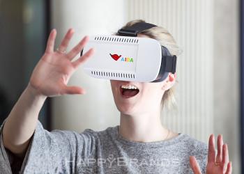 Virtual Reality Brille Praemienartikel im Einsatz 1024