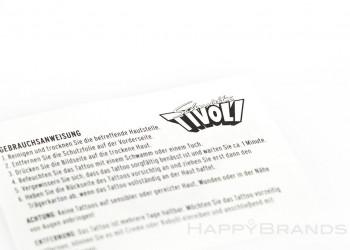 Wasser Tattoos Firmenlogo drucken 1024