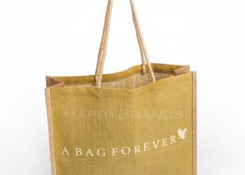 Werbe Tasche aus Jute mit Firmenlogo Kundengeschenk 1024